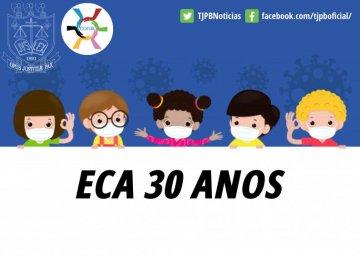 Webinário alusivo aos 30 anos do ECA ocorrerá dia 15 julho com especialistas do TJPB