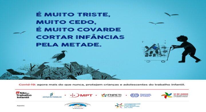Coinju do TJPB participa de campanha nacional de enfrentamento ao trabalho infantil