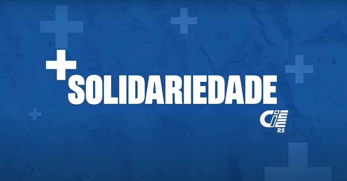 CIEE-RS realiza ação institucional de solidariedade