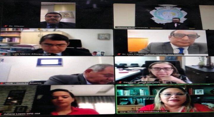 TJAM e instituições parceiras lançam Cartilha do Pacto pela Socioeducação, direcionada aos candidatos ao pleito municipal deste ano