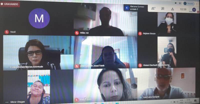 Audiência concentrada pode ser realizada por videoconferência