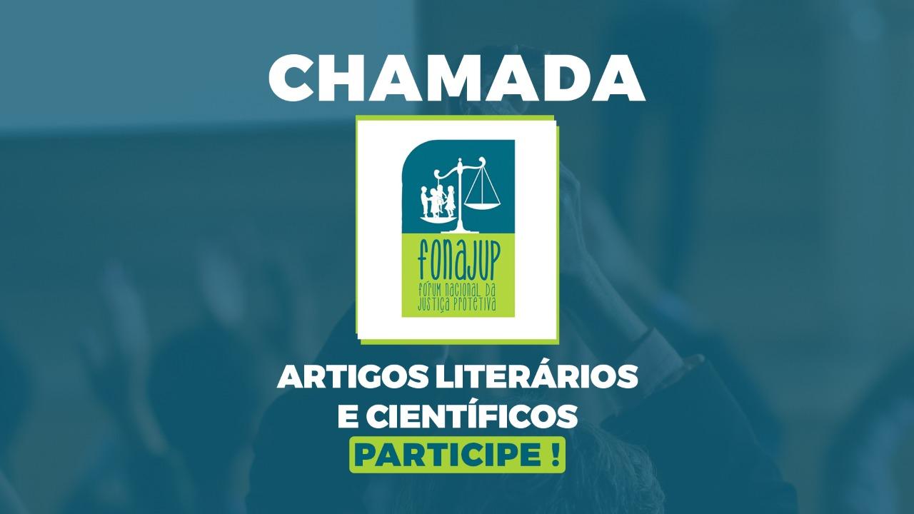 EDITAL DE CHAMADA DE ARTIGOS LITERÁRIOS E CIENTÍFICOS