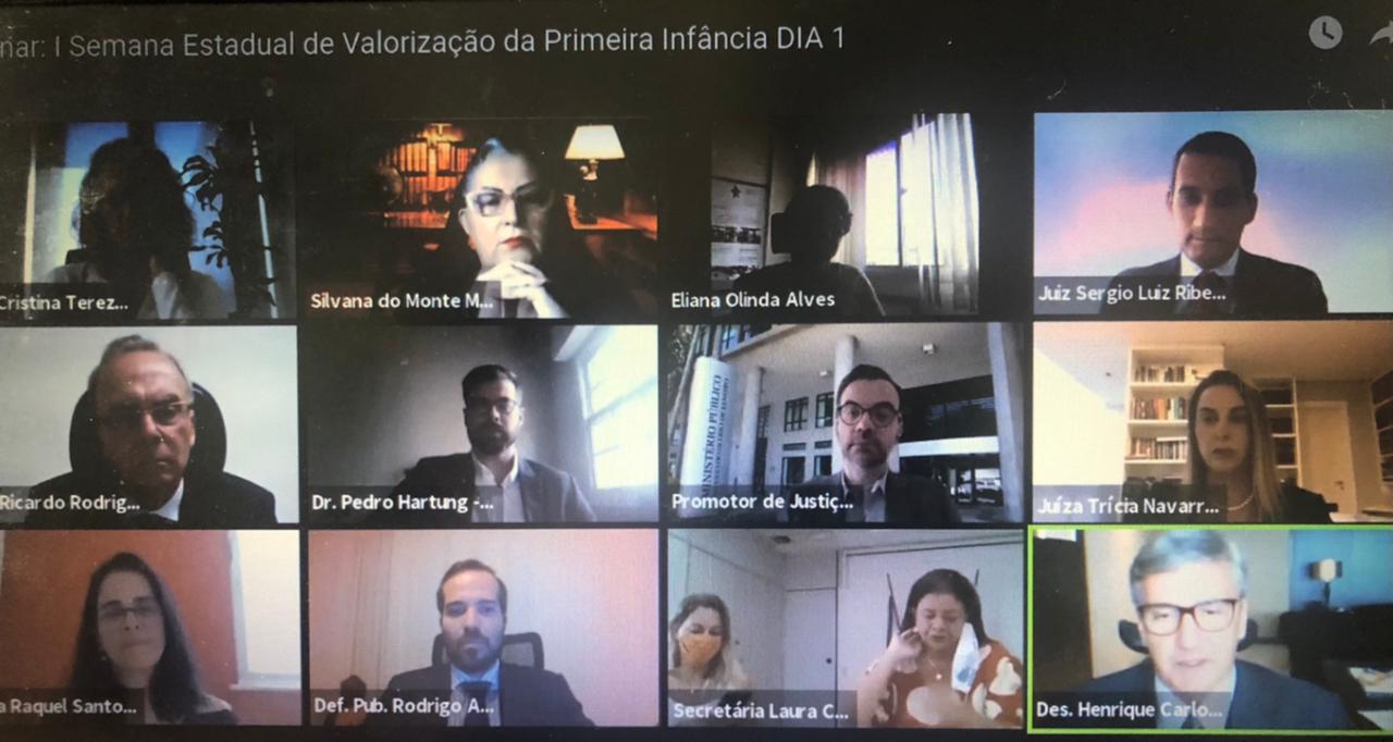 CNJ discute com autoridades do RJ como proteger direitos da primeira infância