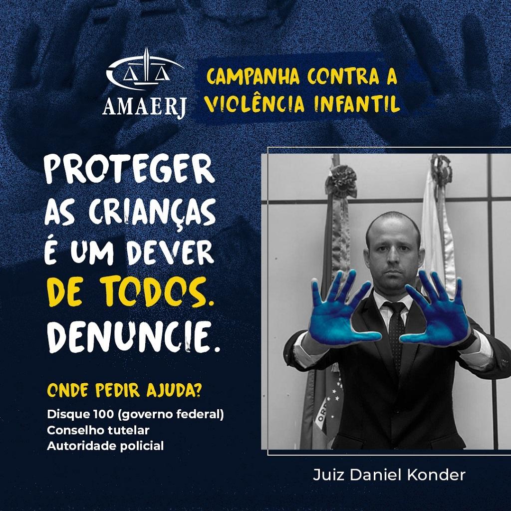 AMAERJ recebe apoio da Abraminj, do Fonajuv e do Fonajup em campanha pró-crianças