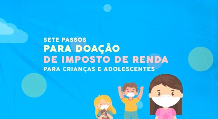 Campanha da CEJIJ mostra como destinar valores do IR para ajudar crianças e adolescentes