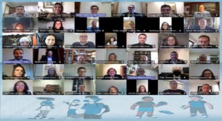 Magistrados da Infância e Juventude do TJPB participam do XXVIII Fonajuv, edição virtual