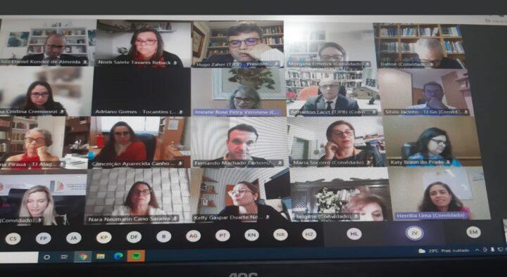 Encontro de Coordenadores da Infância e Juventude analisa atuação das equipes multidisciplinares e avanços tecnológicos