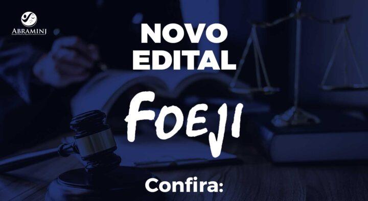 Edital de Convocação de Assembleia para Eleição da Diretoria do FOEJI– PR Biênio 2021/2023.