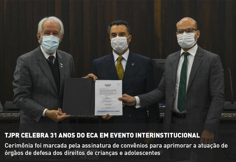 TJPR celebra 31 anos do ECA em evento interinstitucional