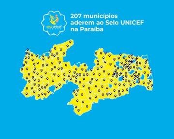 TJPB ressalta importância da adesão de 207 municípios ao Selo Unicef